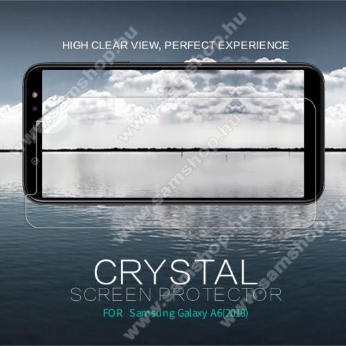 SAMSUNG SM-A600F Galaxy A6 (2018)NILLKIN képernyővédő fólia - Crystal Clear - 1db, törlőkendővel - SAMSUNG SM-A600F Galaxy A6 (2018) - GYÁRI