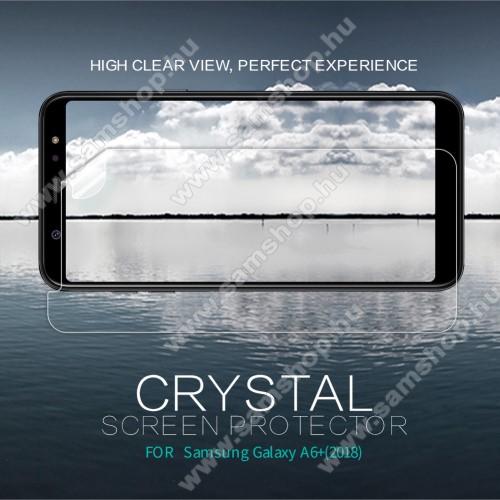 SAMSUNG SM-A605G Galaxy A6 Plus (2018)NILLKIN képernyővédő fólia - Crystal Clear - 1db, törlőkendővel - SAMSUNG SM-A605G Galaxy A6 Plus (2018) - GYÁRI
