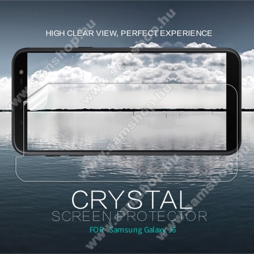 SAMSUNG SM-J600F Galaxy J6 (2018)NILLKIN képernyővédő fólia - Crystal Clear - 1db, törlőkendővel - SAMSUNG SM-J600F Galaxy J6 (2018) - GYÁRI