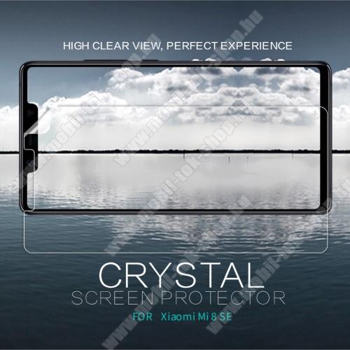 NILLKIN képernyővédő fólia - Crystal Clear - 1db, törlőkendővel - Xiaomi Mi 8 SE - GYÁRI