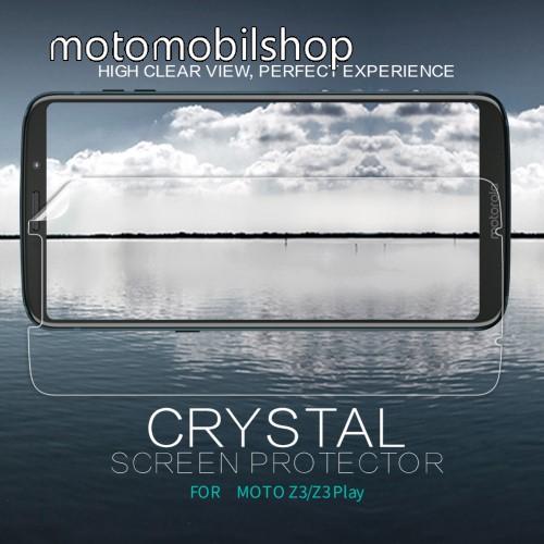 MOTOROLA Moto Z3 Play (2018) NILLKIN képernyővédő fólia - Crystal Clear - 1db, törlőkendővel - MOTOROLA Moto Z3 Play / MOTOROLA Moto Z3 - GYÁRI