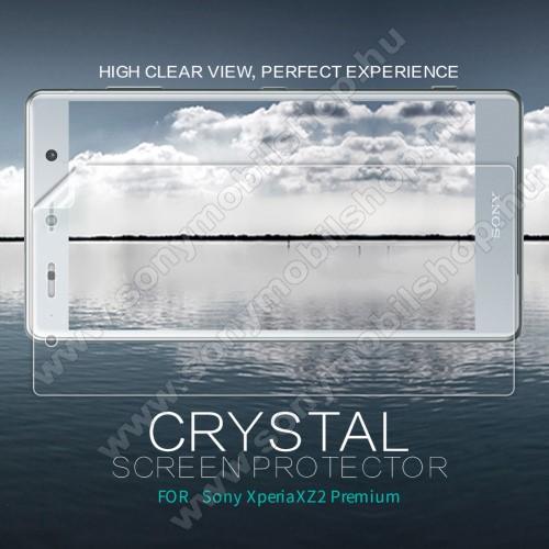 SONY Xperia XZ2 Premium (2018)NILLKIN képernyővédő fólia - Crystal Clear - 1db, törlőkendővel - SONY Xperia XZ2 Premium (2018) - GYÁRI