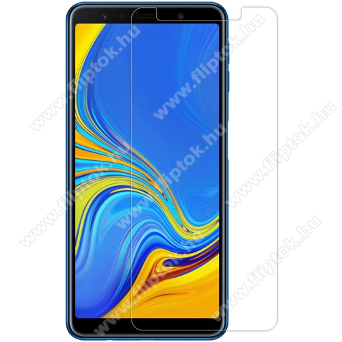SAMSUNG SM-A750F Galaxy A7 (2018)NILLKIN képernyővédő fólia - Crystal Clear - 1db, törlőkendővel - SAMSUNG SM-A750F Galaxy A7 (2018) - GYÁRI