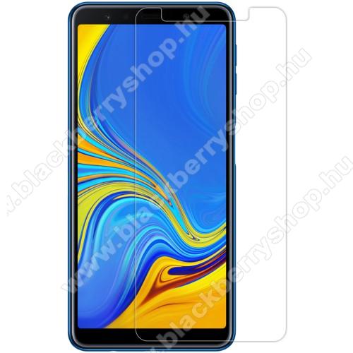 NILLKIN képernyővédő fólia - Crystal Clear - 1db, törlőkendővel - SAMSUNG SM-A750F Galaxy A7 (2018) - GYÁRI