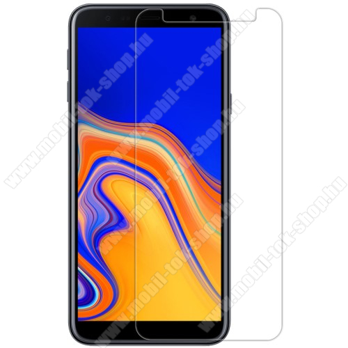 NILLKIN képernyővédő fólia - Crystal Clear - 1db, törlőkendővel - SAMSUNG SM-J415F Galaxy J4+ / SAMSUNG SM-J610F Galaxy J6+ - GYÁRI
