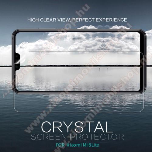 Xiaomi Mi 8 Youth (Mi 8X)NILLKIN képernyővédő fólia - Crystal Clear - 1db, törlőkendővel - Xiaomi Mi 8 Lite / Xiaomi Mi 8 Youth (Mi 8X) - GYÁRI