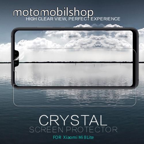 NILLKIN képernyővédő fólia - Crystal Clear - 1db, törlőkendővel - Xiaomi Mi 8 Lite / Xiaomi Mi 8 Youth (Mi 8X) - GYÁRI