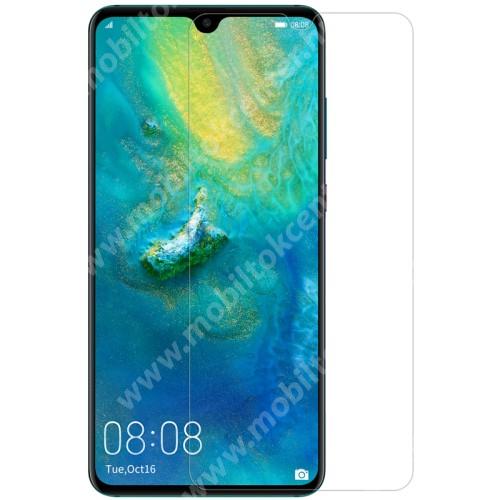 NILLKIN képernyővédő fólia - Crystal Clear - 1db, törlőkendővel - HUAWEI Mate 20 - GYÁRI