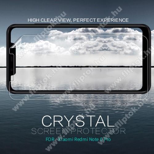 Xiaomi Redmi Note 6 ProNILLKIN képernyővédő fólia - Crystal Clear - 1db, törlőkendővel - Xiaomi Redmi Note 6 Pro - GYÁRI