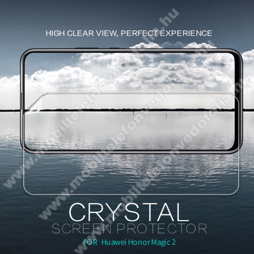 NILLKIN képernyővédő fólia - Crystal Clear - 1db, törlőkendővel - HUAWEI Honor Magic 2 - GYÁRI