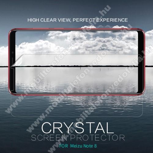 NILLKIN képernyővédő fólia - Crystal Clear - 1db, törlőkendővel - Meizu Note 8 - GYÁRI