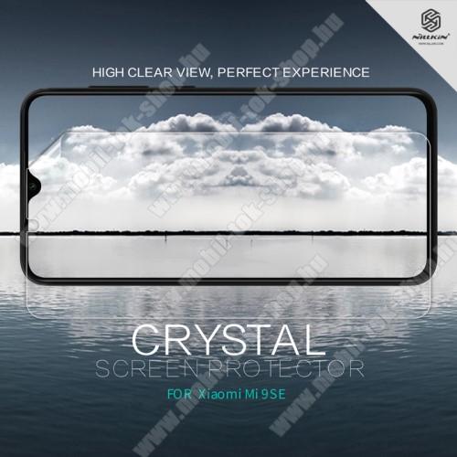 NILLKIN képernyővédő fólia - Crystal Clear - 1db, törlőkendővel - Xiaomi Mi 9 SE - GYÁRI
