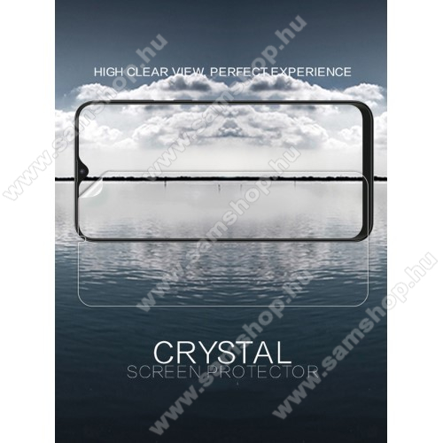 NILLKIN képernyővédő fólia - Crystal Clear - 1db, törlőkendővel - SAMSUNG SM-M205F Galaxy M20 - GYÁRI