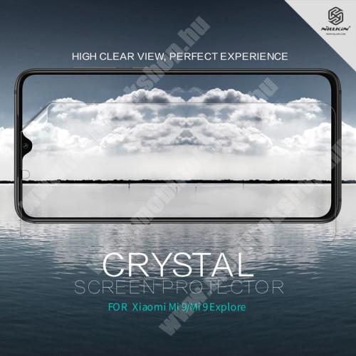 Xiaomi Mi 9 NILLKIN képernyővédő fólia - Crystal Clear - 1db, törlőkendővel - Xiaomi Mi 9 / Xiaomi Mi 9 Explorer - GYÁRI