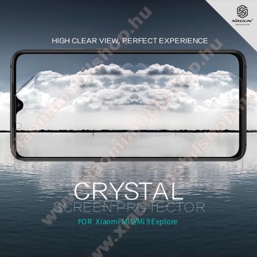 Xiaomi Mi 9NILLKIN képernyővédő fólia - Crystal Clear - 1db, törlőkendővel - Xiaomi Mi 9 / Xiaomi Mi 9 Explorer - GYÁRI