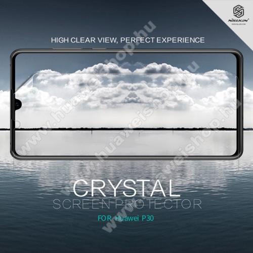 HUAWEI P30NILLKIN képernyővédő fólia - Crystal Clear - 1db, törlőkendővel - HUAWEI P30 - GYÁRI