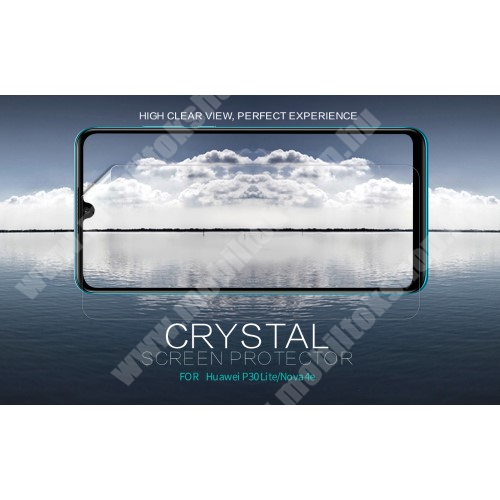HUAWEI P30 Lite NILLKIN képernyővédő fólia - Crystal Clear - 1db, törlőkendővel - HUAWEI P30 Lite / HUAWEI nova 4e - GYÁRI