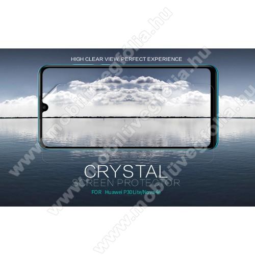 NILLKIN képernyővédő fólia - Crystal Clear - 1db, törlőkendővel - HUAWEI P30 Lite / HUAWEI nova 4e - GYÁRI