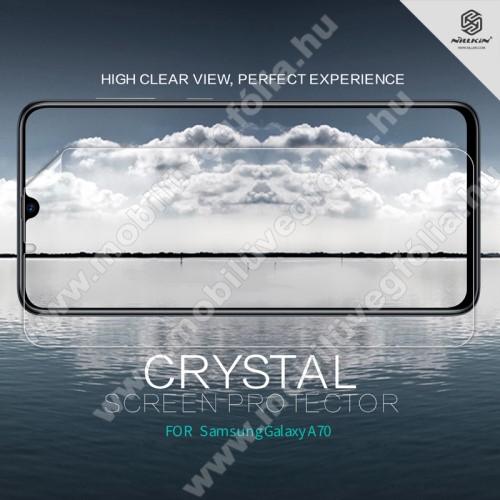 NILLKIN képernyővédő fólia - Crystal Clear - 1db, törlőkendővel - SAMSUNG SM-A705F Galaxy A70 - GYÁRI