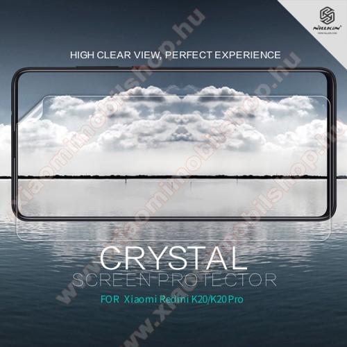 Xiaomi MI 9TNILLKIN képernyővédő fólia - Crystal Clear - 1db, törlőkendővel - Xiaomi Redmi K20 / Xiaomi Redmi K20 Pro / Xiaomi Mi 9T Pro / Xiaomi Mi 9T - GYÁRI