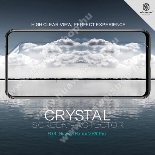 HUAWEI Honor 20NILLKIN képernyővédő fólia - Crystal Clear - 1db, törlőkendővel - HUAWEI Honor 20 / HUAWEI Honor 20 Pro - GYÁRI