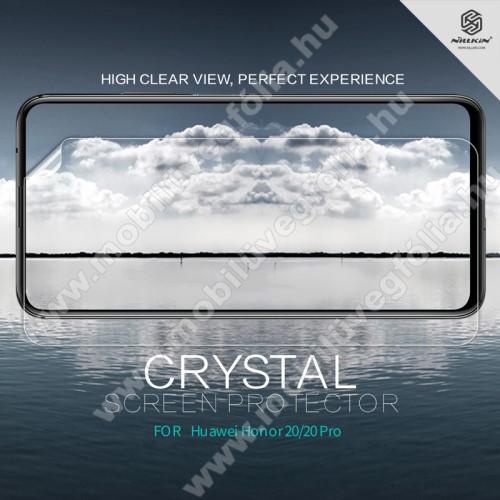 NILLKIN képernyővédő fólia - Crystal Clear - 1db, törlőkendővel - HUAWEI Honor 20 / HUAWEI Honor 20 Pro - GYÁRI