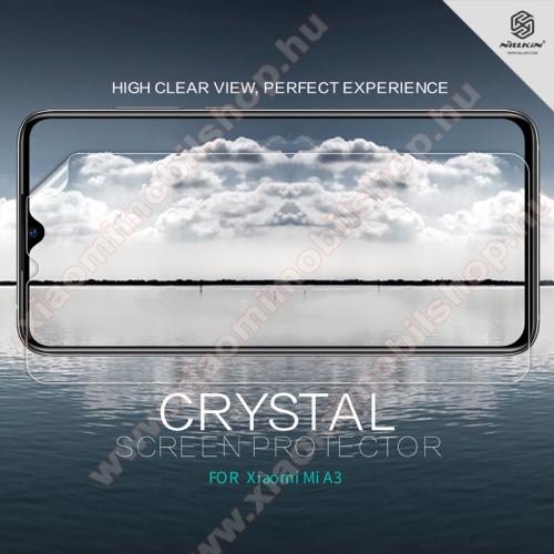 Xiaomi Mi CC9eNILLKIN képernyővédő fólia - Crystal Clear - 1db, törlőkendővel - Xiaomi Mi CC9e / Xiaomi Mi A3 - GYÁRI