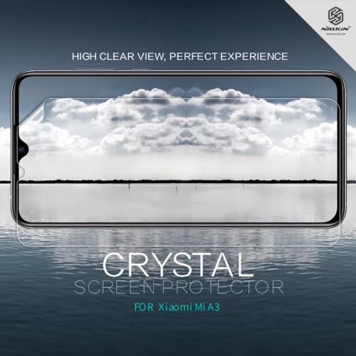 NILLKIN képernyővédő fólia - Crystal Clear - 1db, törlőkendővel - Xiaomi Mi CC9e / Xiaomi Mi A3 - GYÁRI