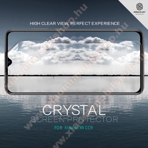 Xiaomi Mi CC9NILLKIN képernyővédő fólia - Crystal Clear - 1db, törlőkendővel - Xiaomi Mi 9 Lite / Xiaomi Mi CC9 - GYÁRI