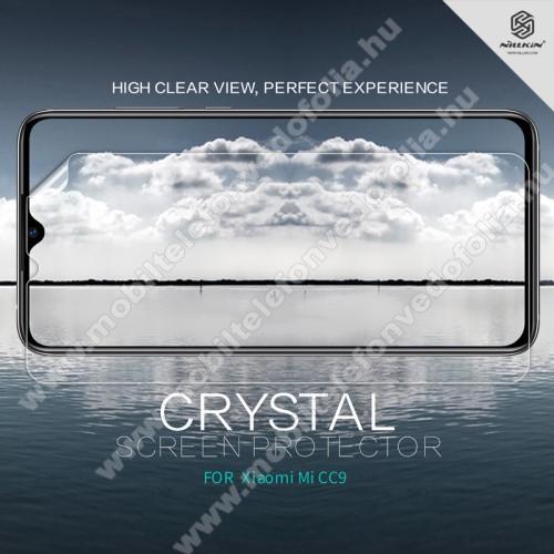 NILLKIN képernyővédő fólia - Crystal Clear - 1db, törlőkendővel - Xiaomi Mi 9 Lite / Xiaomi Mi CC9 - GYÁRI