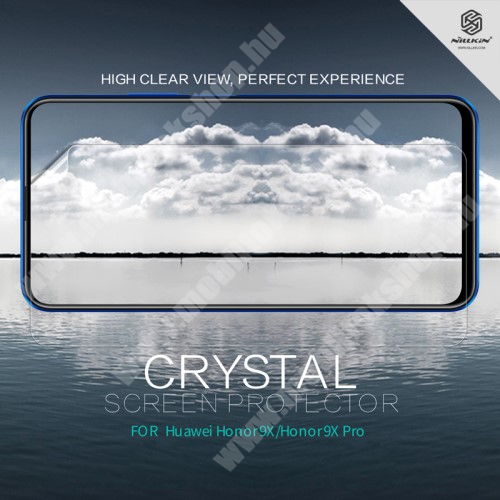 HUAWEI Honor 9X Pro (For China market) NILLKIN képernyővédő fólia - Crystal Clear - 1db, törlőkendővel - HUAWEI Honor 9X / HUAWEI Honor 9X (For China market) / HUAWEI Honor 9X Pro (For China market) - GYÁRI
