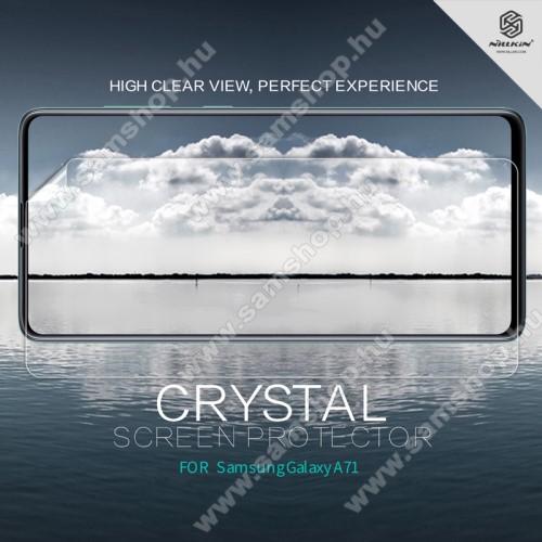 SAMSUNG Galaxy A QuantumNILLKIN képernyővédő fólia - Crystal Clear - 1db, törlőkendővel - SAMSUNG Galaxy Note10 Lite (SM-N770F) / SAMSUNG Galaxy A71 (SM-A715F) / SAMSUNG Galaxy A71 5G (SM-A716F) - GYÁRI