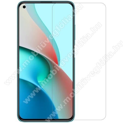 NILLKIN képernyővédő fólia - Crystal Clear - 1db, törlőkendővel, A képernyő sík részét védi! - Xiaomi Redmi Note 9T 5G / Redmi Note 9 5G - GYÁRI