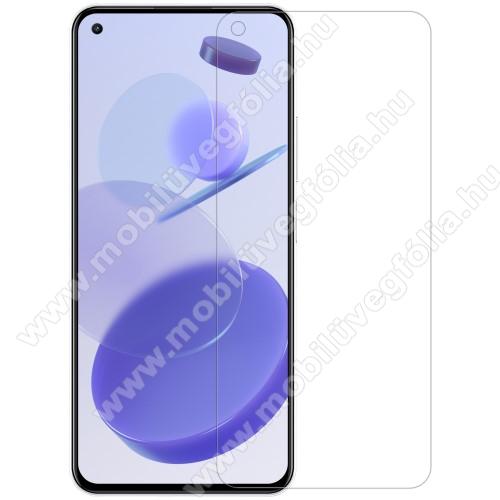 NILLKIN képernyővédő fólia - Crystal Clear -  1db, törlőkendővel, A képernyő sík részét védi! - Xiaomi Mi 11 Lite / Xiaomi Mi 11 Lite 5G - GYÁRI