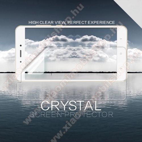NILLKIN képernyővédő fólia - CRYSTAL Clear - 1db, törlőkendővel - Xiaomi Redmi Note 4 - GYÁRI