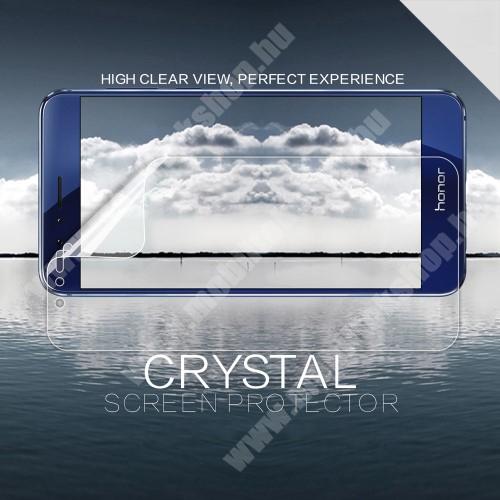 NILLKIN képernyővédő fólia - Crystal Clear - 1db, törlőkendővel - HUAWEI Honor 8 / HUAWEI Honor 8 Premium - GYÁRI
