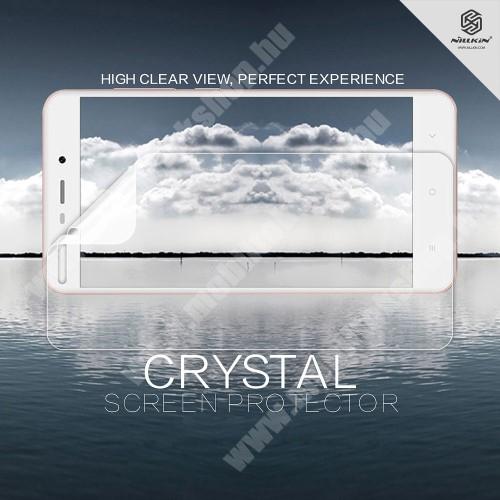 NILLKIN képernyővédő fólia - Crystal Clear - 1db, törlőkendővel - Xiaomi Redmi 4A - GYÁRI
