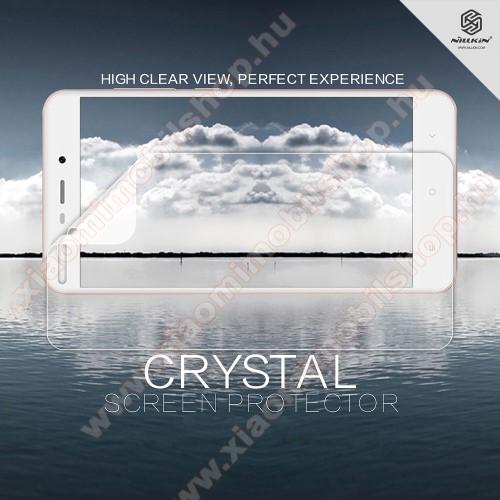 Xiaomi Redmi 4a ProNILLKIN képernyővédő fólia - Crystal Clear - 1db, törlőkendővel - Xiaomi Redmi 4A / Xiaomi Redmi 4a Pro - GYÁRI