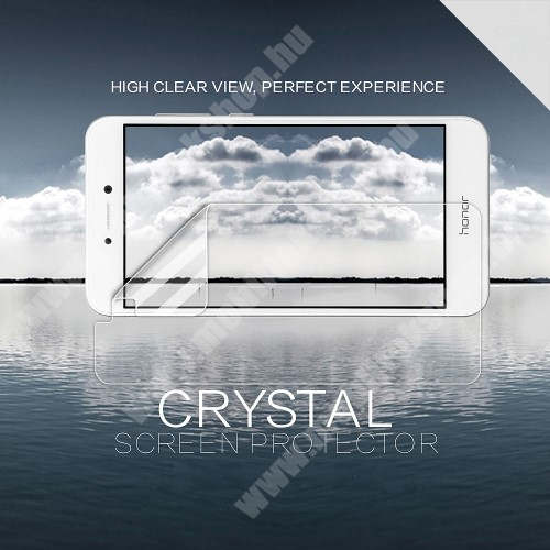 NILLKIN képernyővédő fólia - Crystal Clear - 1db, törlőkendővel - HUAWEI P8 Lite (2017) / HUAWEI P9 Lite (2017) / HUAWEI Honor 8 Lite - GYÁRI