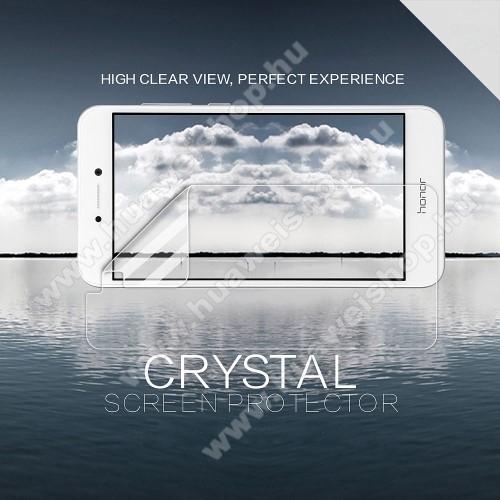 HUAWEI Honor 8 LiteNILLKIN képernyővédő fólia - Crystal Clear - 1db, törlőkendővel - HUAWEI P8 Lite (2017) / HUAWEI P9 Lite (2017) / HUAWEI Honor 8 Lite - GYÁRI