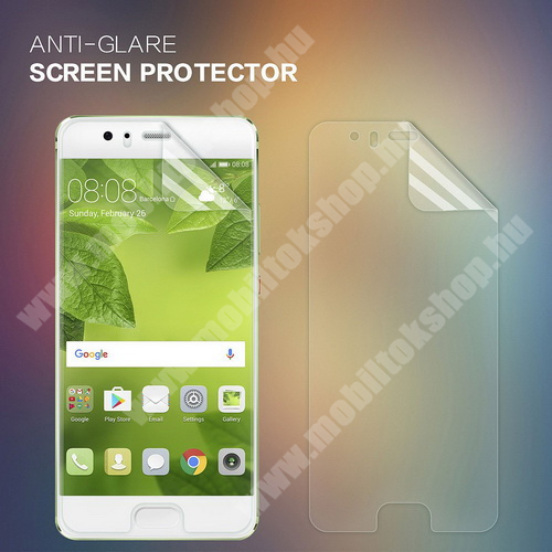 NILLKIN képernyővédő fólia - Crystal Clear - 1db, törlőkendővel - HUAWEI P10 - GYÁRI