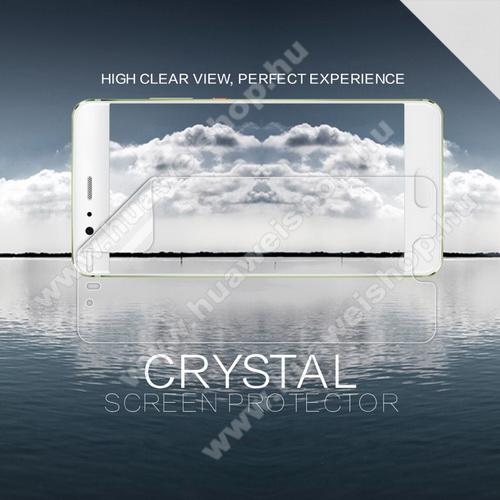 HUAWEI P10 PlusNILLKIN képernyővédő fólia - Crystal Clear - 1db, törlőkendővel - HUAWEI P10 Plus - GYÁRI