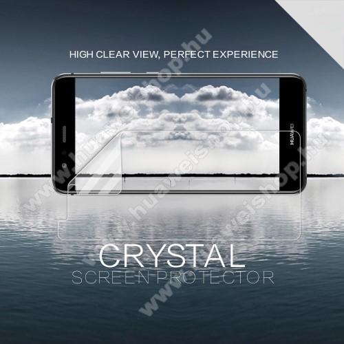 HUAWEI P10 LiteNILLKIN képernyővédő fólia - Crystal Clear - 1db, törlőkendővel - HUAWEI P10 Lite - GYÁRI