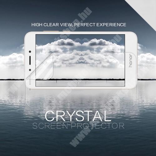 NILLKIN képernyővédő fólia - Crystal Clear - 1db, törlőkendővel - Huawei Honor 6A - GYÁRI