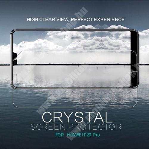 Huawei P20 Pro (2018) NILLKIN képernyővédő fólia - CRYSTAL HD Clear - 1db, törlőkendővel - HUAWEI P20 Pro (2018) - GYÁRI
