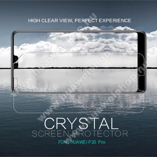Huawei P20 Pro (2018)NILLKIN képernyővédő fólia - CRYSTAL HD Clear - 1db, törlőkendővel - HUAWEI P20 Pro (2018) - GYÁRI