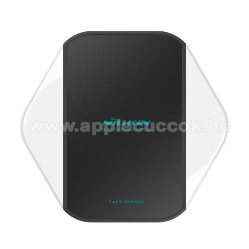 Apple Airpods MV7N2ZM/ANILLKIN Magic Cube - MC012 - QI Univerzális vezeték nélküli töltő - 5V / 1A  - FEKETE - GYÁRI