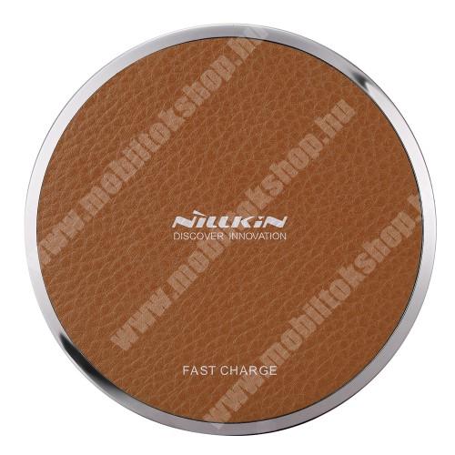BLACKBERRY 9800 Torch NILLKIN Magic Disk III - QI Univerzális vezeték nélküli töltő - 5V / 2A, 9V / 1.7A  - BARNA
