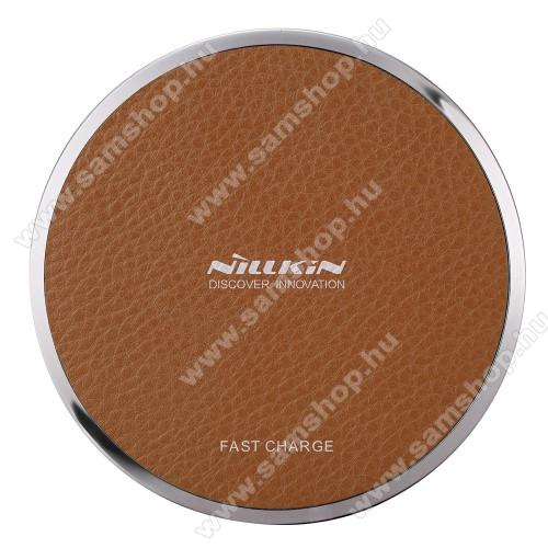 SAMSUNG GT-S7350 Ultra sNILLKIN Magic Disk III - QI Univerzális vezeték nélküli töltő - 5V / 2A, 9V / 1.7A  - BARNA