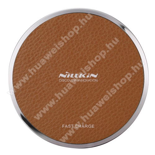 Huawei P20 Pro (2018)NILLKIN Magic Disk III - QI Univerzális vezeték nélküli töltő - 5V / 2A, 9V / 1.7A  - BARNA